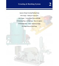 Grouting and Batching System Catalog
