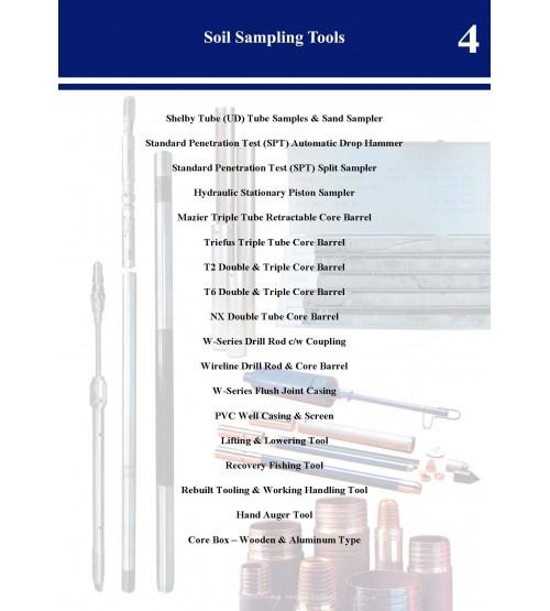 Soil Sampling Tools Catalog