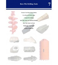 Bore Pile Drilling Tools Catalog